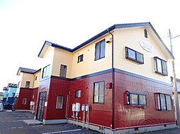 新潟県新潟市西区寺尾の賃貸アパートの外観