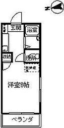 アリスガーデン[3階]の間取り