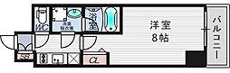 ファーストフィオーレ東梅田[15階]の間取り