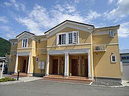 鳥取県鳥取市河原町長瀬の賃貸アパートの外観