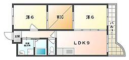 サンライズハイム[2階]の間取り