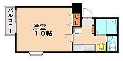 GRACE KUWANO[1階]の間取り