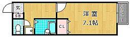 プレジールエスパース[2階]の間取り