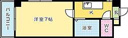 一木ビル[302号室]の間取り