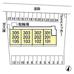 (仮)オッツ小島田町[2階]の外観