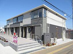 埼玉県上尾市小泉5丁目の賃貸アパートの外観