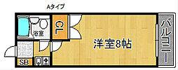 神藤レジデンス[4階]の間取り