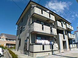 兵庫県赤穂市さつき町の賃貸アパートの外観