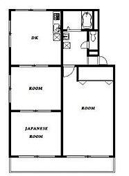レジオン松戸[3階]の間取り
