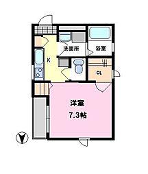 すみれ[1階]の間取り