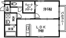 グランミール[1階]の間取り