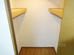ノルデンタワー新大阪のウォークインクローゼットなので沢山入りますね