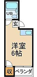 シャルマンアイランド88[3階]の間取り