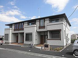 茨城県常総市本石下の賃貸アパートの外観