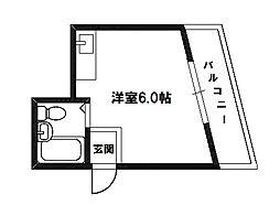 プレアール下新庄II[4階]の間取り