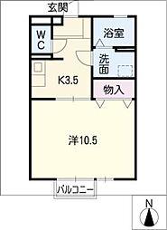 M's court[1階]の間取り