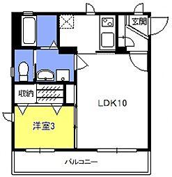 Maison de そら[106号室号室]の間取り