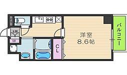 カンフォーラ松崎[206号室]の間取り