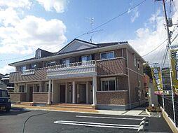 広島県福山市北本庄1丁目の賃貸アパートの外観