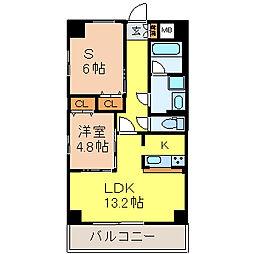 グランデューク千代田[2階]の間取り