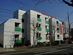 マンション六本木[206号室]の外観
