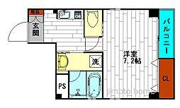 フジガーデン[4階]の間取り