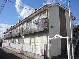 京都府宇治市宇治蔭山の賃貸アパートの外観