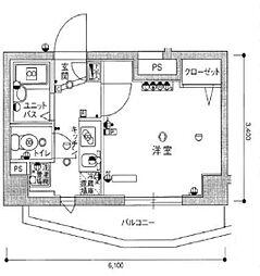 スカイコート大塚第2[1階]の間取り