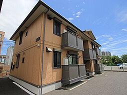 プラム桜川 B棟[102号室号室]の外観