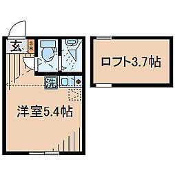 Huvafen Fushi 鶴見[103号室]の間取り
