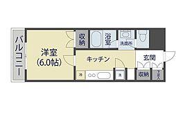 リレント谷塚II 219号室[2階]の間取り