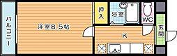 スタディハイツIII[2階]の間取り