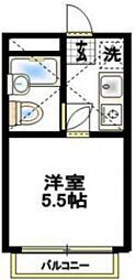 RARA本厚木NO.2[1階]の間取り