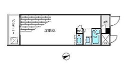 東京都杉並区桃井4丁目の賃貸マンションの間取り