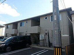 愛知県西尾市住崎1丁目の賃貸アパートの外観