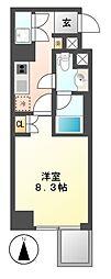 レジデンス千代田[8階]の間取り