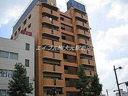 岡山県岡山市北区京橋町の賃貸マンションの外観