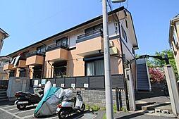 東京都東久留米市幸町1丁目の賃貸アパートの外観