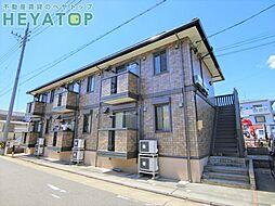 愛知県名古屋市南区忠次1丁目の賃貸アパートの外観