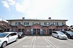 福岡県北九州市八幡西区石坂1丁目の賃貸アパートの外観