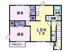 アヴァンティ[2階]の間取り