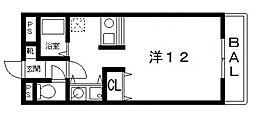 光南コスモセブン[303号室号室]の間取り