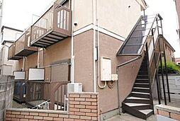 東京都杉並区高円寺北2丁目の賃貸アパートの外観