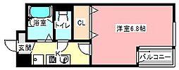 元浜グリーンホームズ[2階]の間取り