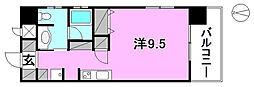 TREIZE REUNION(トレーズレユニオン)[201 号室号室]の間取り