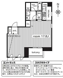 アライアンス船場[3階]の間取り