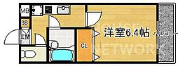 ショコラ松ヶ崎[107号室号室]の間取り