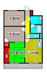 TOEI MANSION[1階]の間取り