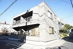 東京都世田谷区若林5丁目の賃貸アパートの外観
