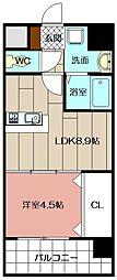 Apartment3771[806号室]の間取り